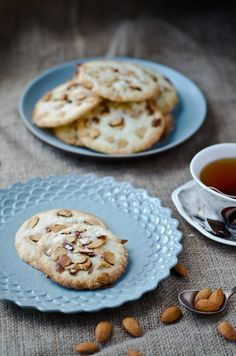 BLISS - blissful eats with tina jeffers: Salted almond butter cookies