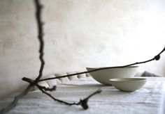 noperfectdayforbananafish:    (via Home Indulgence / 2 bowls and a stick)