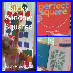 Perfect Square Sticky Window by Teach Preschool