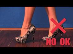 Kassandra brings us another highly requested video, How-to-Walk-In-Heels.  In this video Kassandra shares a few tips and pointers on how to perfect your walk as well as how to start out walking in everything from wedges, chunky heels and even stillettos.