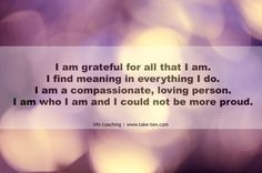 Gratitude Quote | Tips, Tricks and Thoughts on Living a Happy Life | Take-Ten Life Coaching Athens Greece