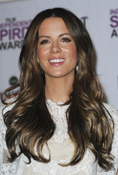 Kate Beckinsales beautiful hairstyles