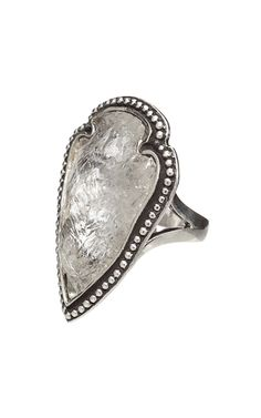 Pamela Love Quartz Arrowhead Ring