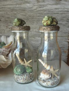 Ocean Terrarium  Set of 2 by happybdaytome on Etsy, $24.00