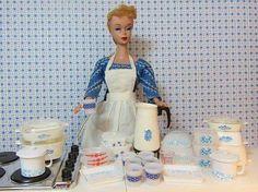 Barbie loves corningware