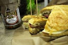 Bittersweet and Co. offers Muffaletta samples at its specialty shop inside Olsen's Piggly Wiggly in Howard. The store moved from De Pere to capitalize on a supermarket partnership that began two years ago. / Evan Siegle/Press-Gazette photo