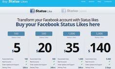 Buy Facebook Status likes  http://www.BuyStatusLikes.com