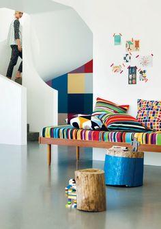 Color: Marimekko Home S/S 2014 #kids #decor