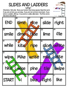 A fun way to practice reading words based on a given phonics skill. In this set of games, students practice long vowel words. The reading/language ...