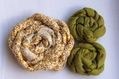 Learn how to make Fabric Flowers!