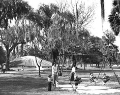 Monkey Hill in Audubon Park. Built by the city fathers so children in N.O. would know what a hill was since the city is so flat. True story.