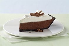 COOL WHIP Chocolate Silk Pie with Marshmallow Meringue