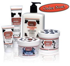 Udder Cream is the essential moisturizer for dry, cracked skin.