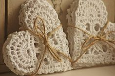 Crochet Hearts Inspiration ❥ 4U // hf