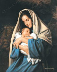Nativity Pictures by Simon Dewey | Altus Fine Art