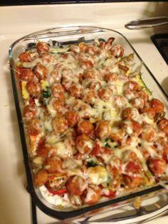 Quinoa Meatball Lasagna 1. It's gluten free 2. It's so delicious ...
