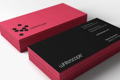 Dig these colored paper #business #cards