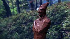 木彫りの詩人
