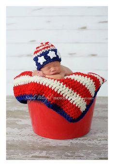 prop crochet, flags, photographi prop, american flag, babi, newborn photography props, crochet patterns, hat, beani photographi