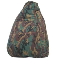 Gold Medal 31010584925 Medium Denim Beanbag, Tween Size, Camoflage by Gold Medal, I bought this for my tiny elderly mother so she can sit closer to her tv due to failing eyesight. She says she loves it and it is comfortable. It's just a little hard for her to get out of but that's to be expected.