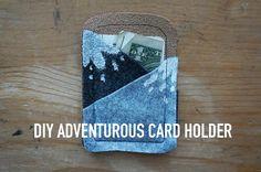 DIY gift card holder