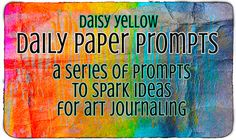 The Daily Paper Prompts: Index - daisy yellow -