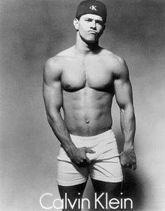 Herb Ritts took the (in)famous shot of Mark Wahlberg when he was Marky Mark and did this underwear ad for Calvin Klein.