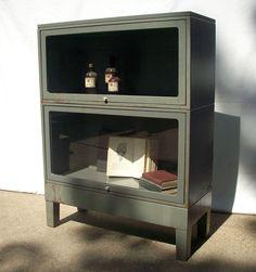 Vintage Steel Bookcase