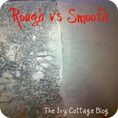 The Ivy Cottage Blog: Aluminum Foil Wall Covering
