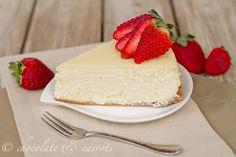 Cheesecake Supreme - moist, lowfat cheesecake with greek yogurt!