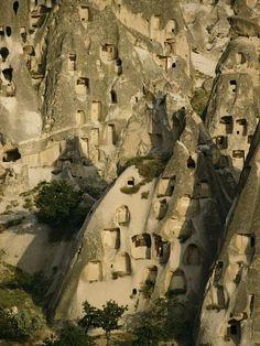 Cave Dwellings, Turkey