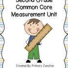 This Second Grade Common Core Measurement Unit contains over 285 pages of step-by-step lesson plans, assessments, teacher and parent resources, activities, centers, daily checks, and more! Students will explore attributes, non-standard and standard units, Customary and Metric Measurement Systems, and more!