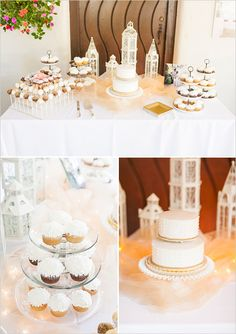 Dessert table ideas  weddingchicks.com