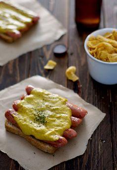 Receta 797: Salchichas de Frankfurt con salsa de mostaza » 1080 Fotos de cocina