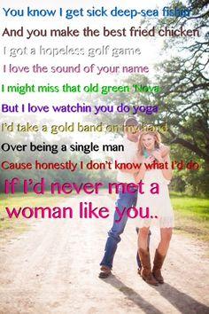 Woman Like You- Lee Brice