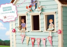 craft, memori, studios, paper dolls, sarah jane, children, papers, blog, doll houses