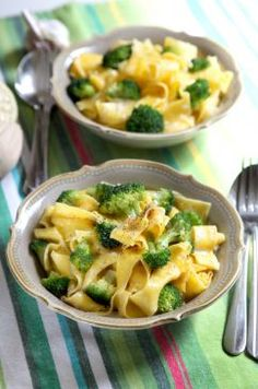 Creamy Broccoli Pasta