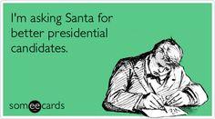 I'm asking Santa for...