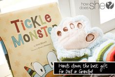 We have this and my kids squeal with joy every time our tickle monster comes out. Seriously the best gift. 42% off right now.