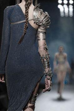 Not Margaret: Richard's arm?