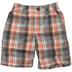 Plaid Cotton Shorts