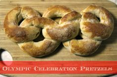 Celebrate the Olympics with These Festive Pretzels! ~ Lille Punkin'