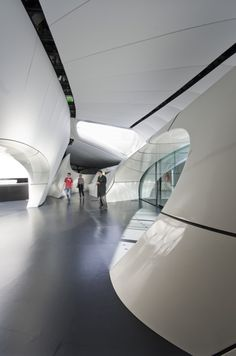 Chanel Mobile Art Pavilion. Design by  Zaha Hadid Architects.