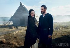 news set  Macbeth ecco le prime immagini con Fassbender e Cotillard