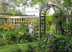 Aiken House & Gardens ~ late July in the Garden