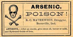 Vintage Clip Art - Old Poison Labels - Skull - The Graphics Fairy