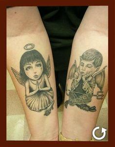 Angel & Devil  (Artist: Cat Johnson)