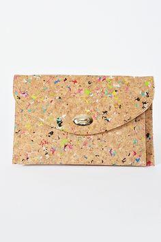 style, confetti cork, accessori, bag, clutches, cork clutch, highsnobettenastyg confetti1, corks, confetticork
