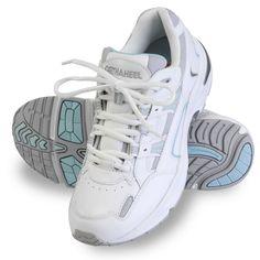 The Lady's Plantar Fasciitis Walking Shoes - Hammacher Schlemmer