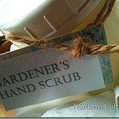 Gardener's Hand Scrub {Recipe How-To}